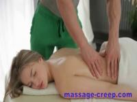 Teen fucked by her masseur