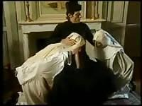 Threesome with fisting at the convent