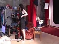 Amateur, exhibant ses gros seins
