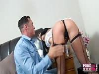 Big butt English gets fucked