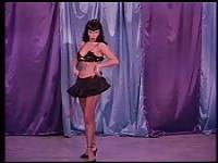 Having fun with the naughty Betty Page