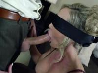 Mature woman in stocking getting fucked by beautiful hunk
