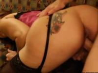 Bewitching MILF earns money fucking her clients