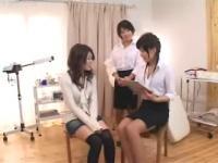 Innocent Asian teen gets a squirt inducing massage