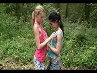 HAWT im freien Lesben Teenies