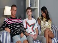 Bi Male+Male+Female Pleasure Betwixt Allies