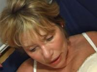 FRENCH AGED n35 golden-haired anal mommy vieille salope
