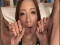 Skinny Japanese whore fucked and creampied