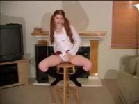 Tiffany Lance panty masturbation instruction