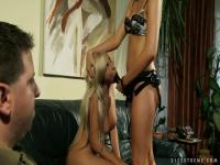 Adriana Russo fingering her sister like a naughty whore