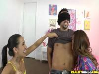 Amia Miley and Melanie Jane make a surprise