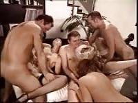An orgy reception