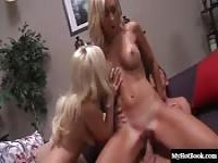 Angelina Ash and Jessica Lynn get rammed with a bi
