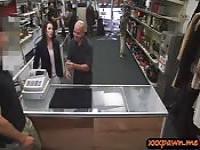 Kunden, die Frau von geile Bauer Dude gefickt