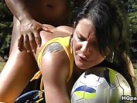 Jbrown & Dani Lopes in Sexy striker Movie