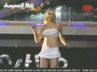 Sexy amateur bitches are dancing in this video clip