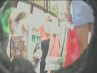 Public scene upskirt bare ass voyeur candid videos for free