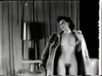 Unknown Model Dancing in someone's livingroom