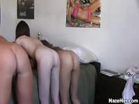 Hochschule Dudes erhalten eine nackte zu behandeln