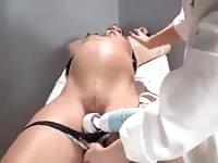 Masturbated by her gynecologist