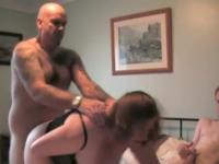 two studs fucking one sexually slutty wife