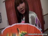 LadyboyGold Clip: Turning Japanese