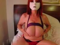 Massive tits on a model