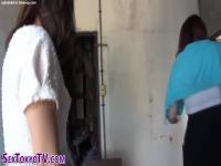 Weird asian babes ###