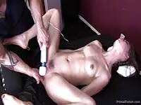 Massage, masturbation and squirting