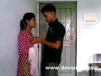Indian teen couple