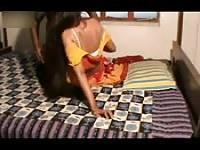 How far this Indian slut can go?