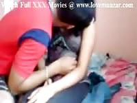 Cute Indian girl gets played with