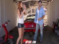 Digital Playground - Redhead babe has engine trouble