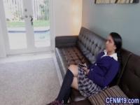 Cfnm schoolgirl fucked