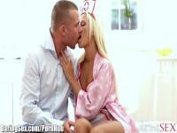 DaringSex Hot Blonde Nurse Passionately Fucking
