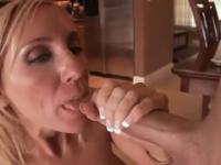 Milf Toni with hot big tits in blowjob porno video