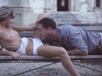 European beauty Doris Ivy is acting in sex video