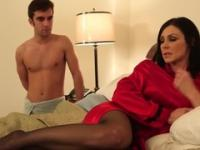 Playgirl is acting in porn movie