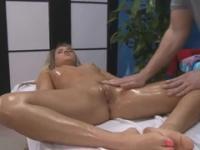 European teenager Aleska in blowjob action