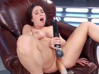 Serena Blair in masturbating xxx video