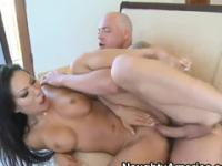 Milf is acting in creampie xxx video