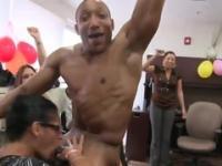Wondrous amateur group porn video in office