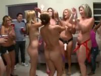Courtney Cummz, Sara Jay and Jamie Valentine in amazing reality group porn action