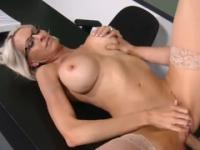 Aged female is acting in hard fuck xxx action in office