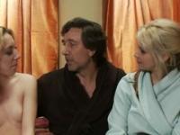 Steve Holmes, Emma Haize and Sarah Vandella in marvelous bdsm porn movie