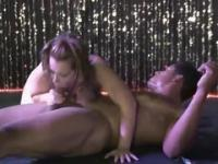 Outstanding reality 3some porn movie