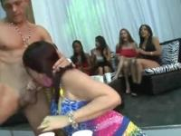 Fantastic amateur partying porno movie