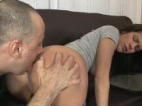 European beauty Samia Duarte with hot gazoo is acting in reality porn action