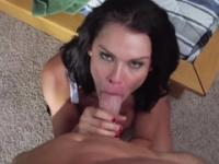 Brunette Peta Jensen with hot big tits is acting in hardcore xxx video