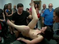Amy Fair in wonderful bdsm group porn action